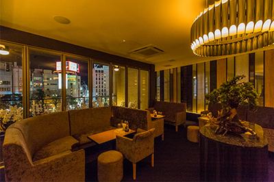 夜景を楽しめる西中洲のクラブ