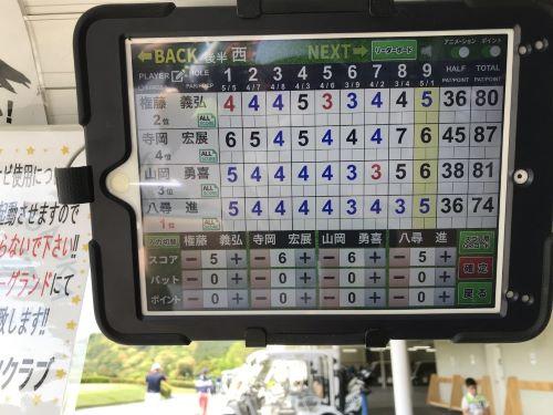 令和二回目のゴルフ2