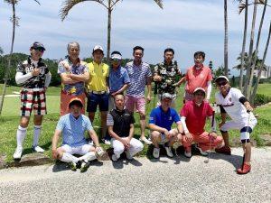 中洲派遣ハピネス社長の沖縄でのゴルフ2