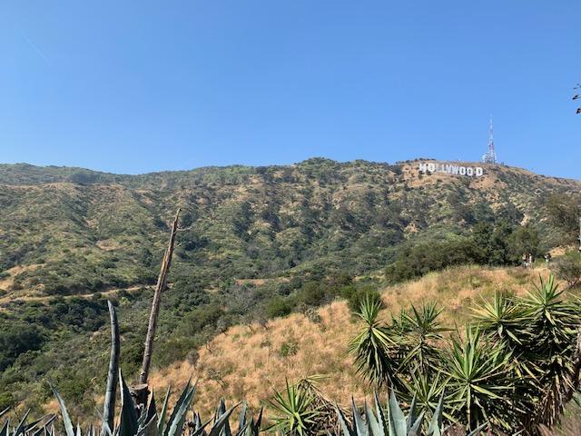 ロサンゼルスのハリウッドサイン