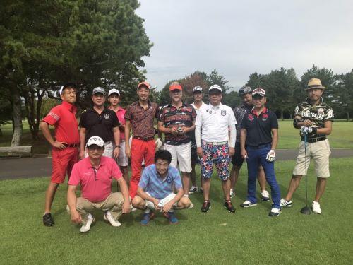 中洲の派遣、ハピネスの社長のゴルフ写真2