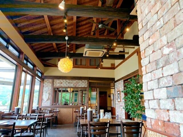 糸島「御飯屋おはな」の内装