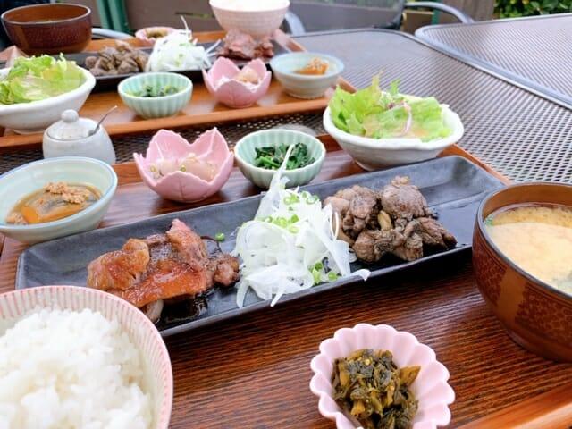 糸島「御飯屋おはな」の糸島セット